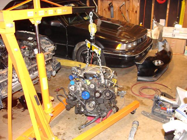 First Motor Swap